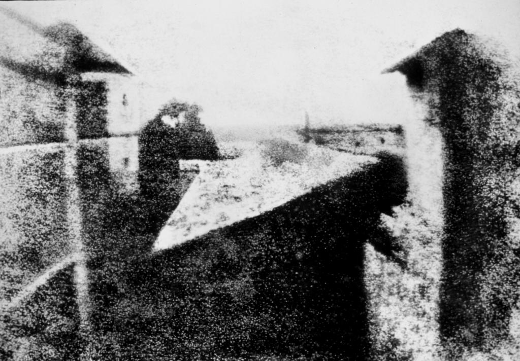 Вид из окна в Ле Гра