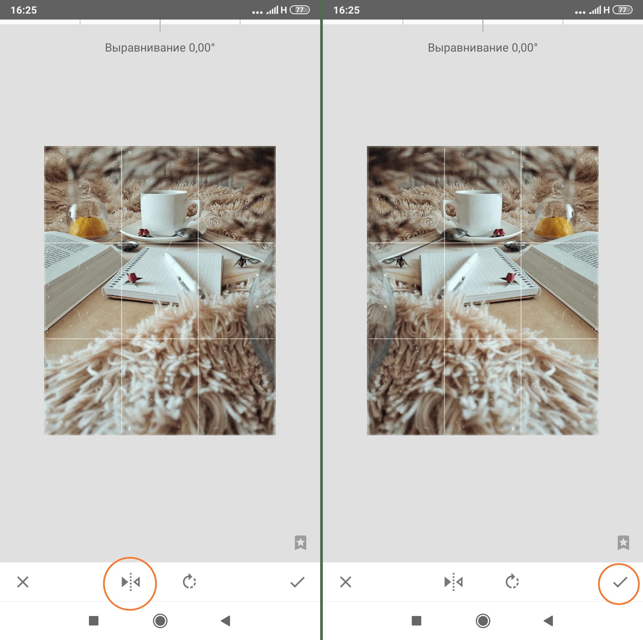 Зеркальное отражение в Снепсид