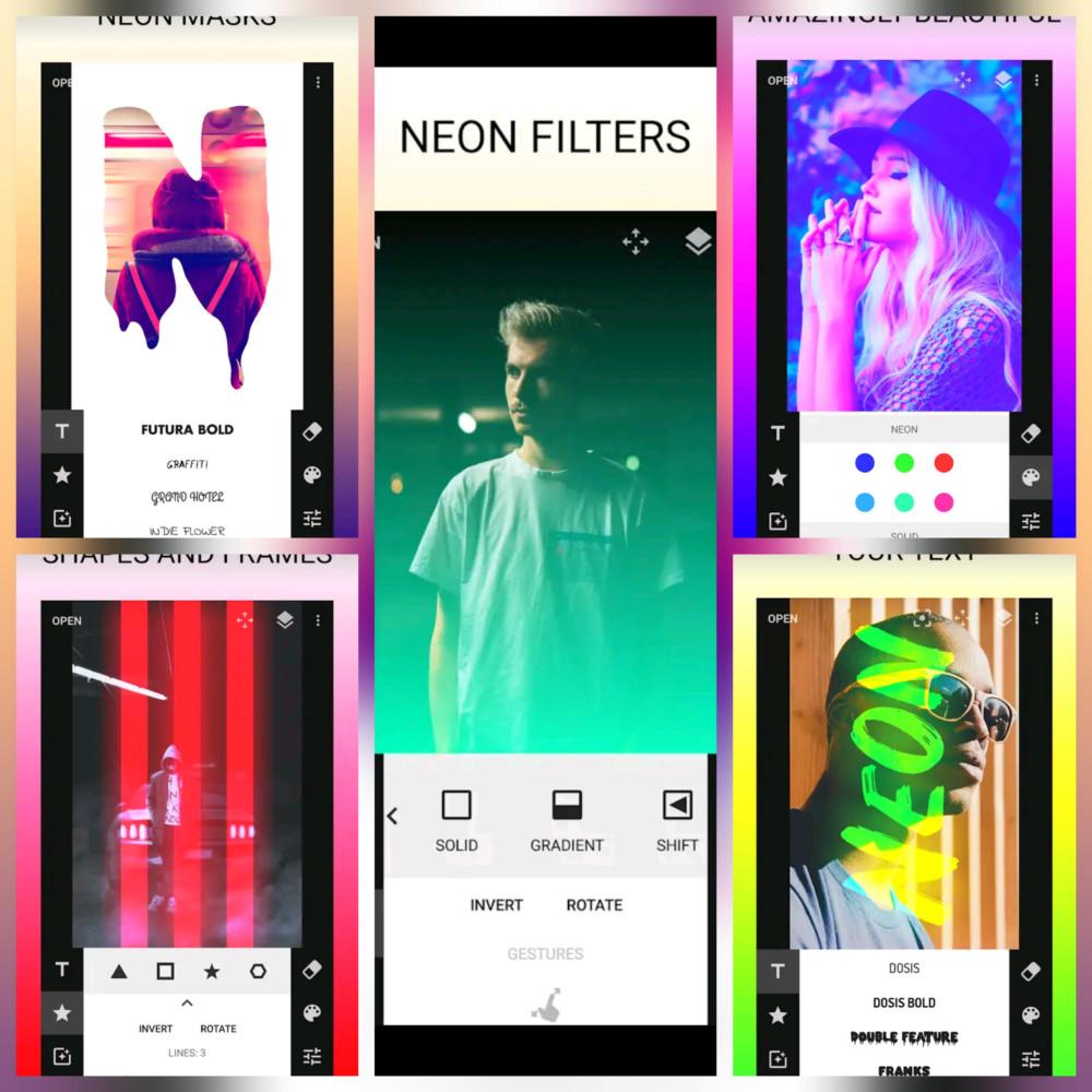 Приложение Neon