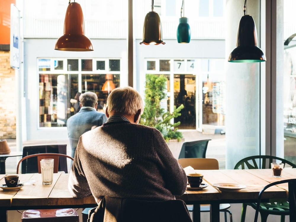 Фото в кофейне