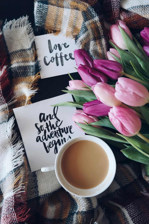Раскладка с кофе