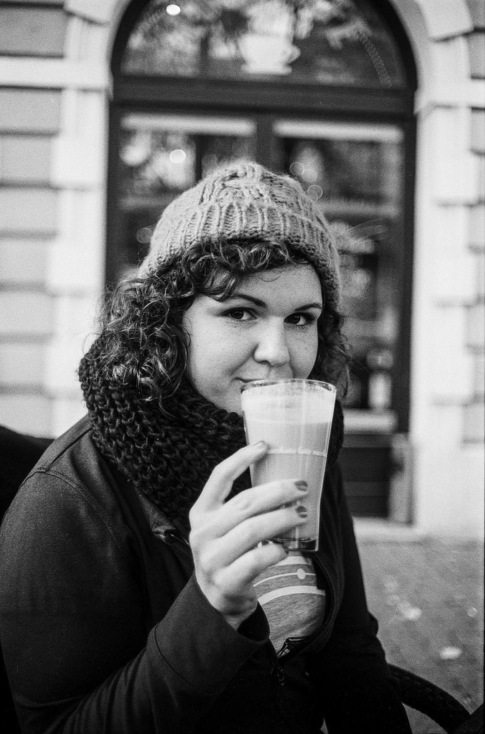 Лайфстайл с кофе