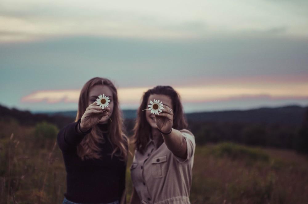 Фото с лучшей подругой