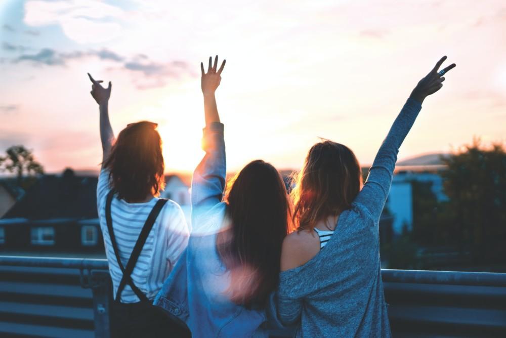 Фото с подругами