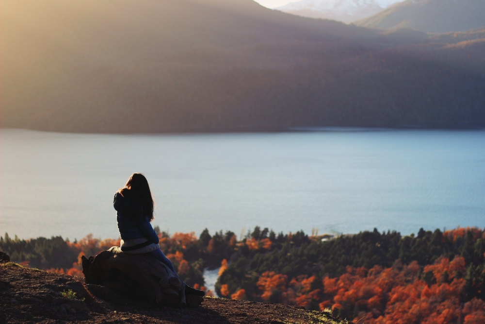 Осеннее фото на природе