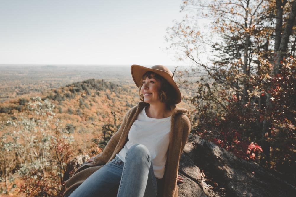 Осеннее фото в горах