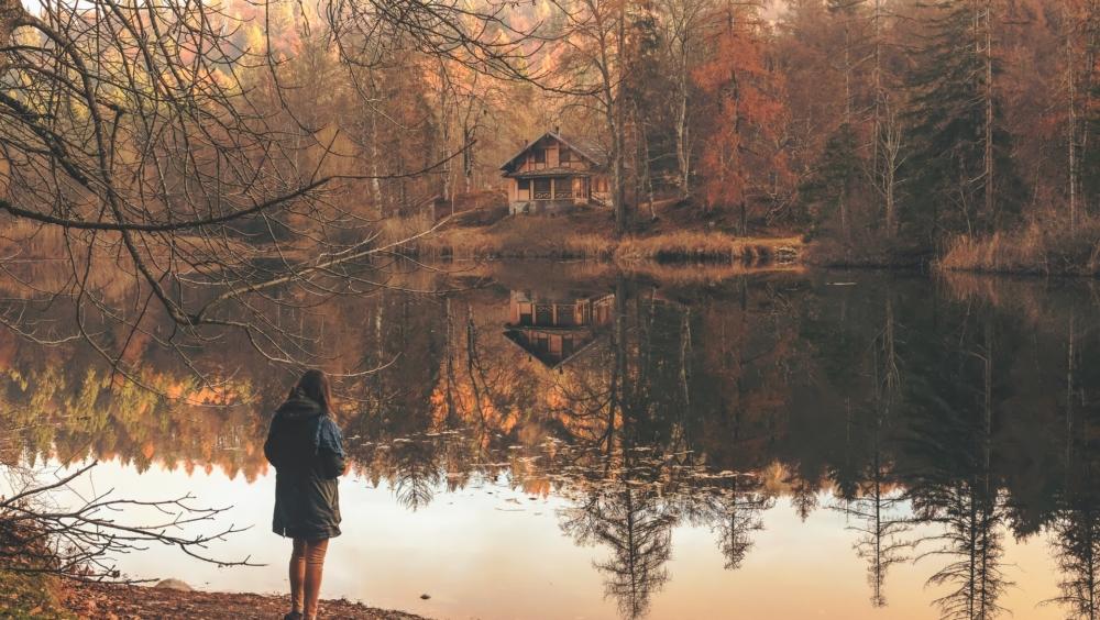 Фото у озера