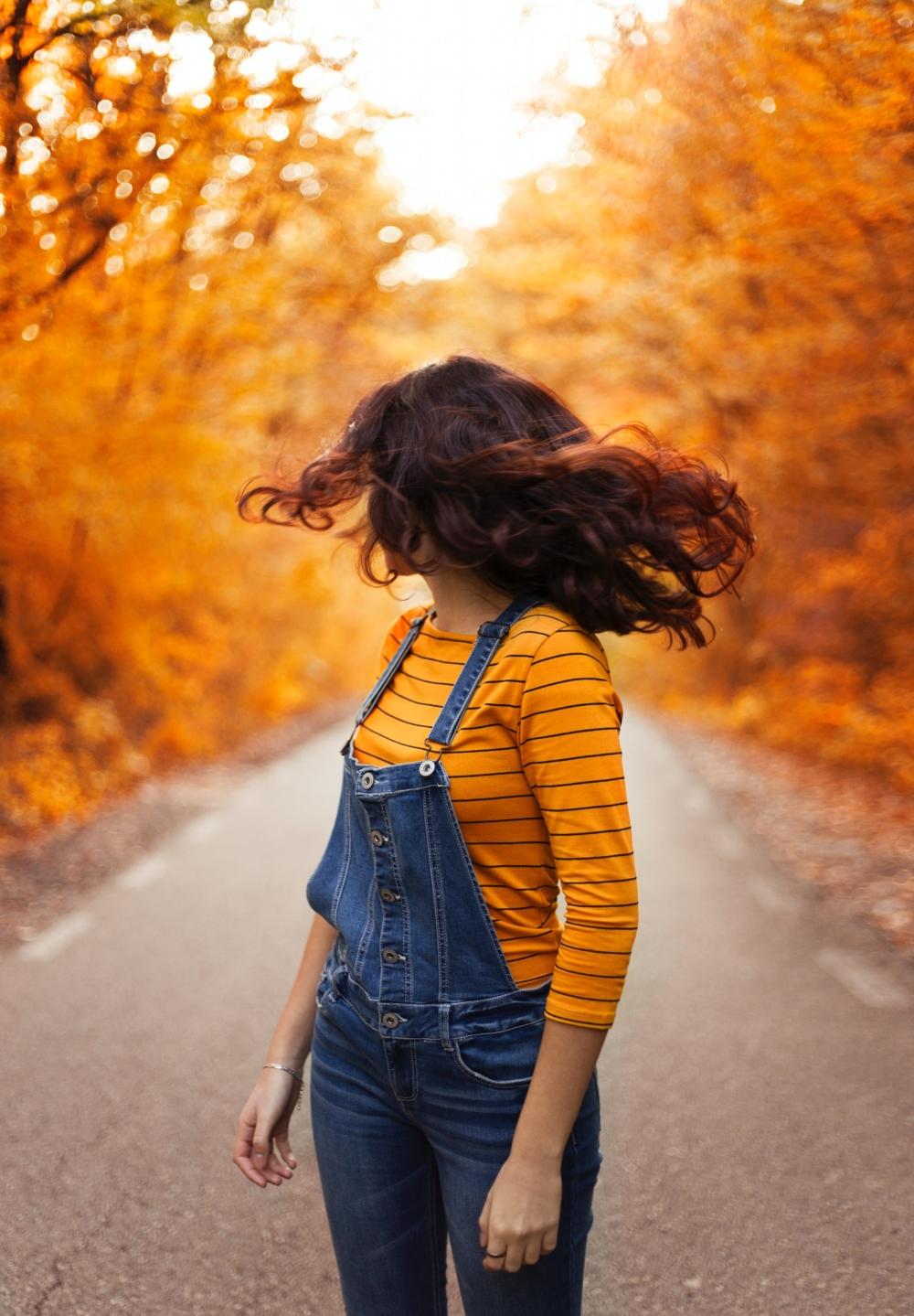 Осеннее фото без лица